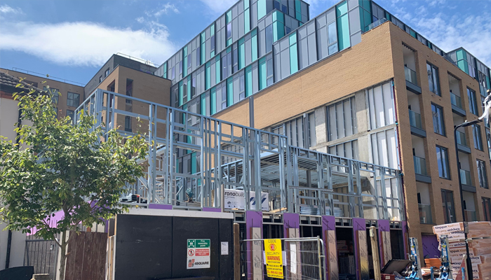 Steel Frame Solutions - High Street - Southall