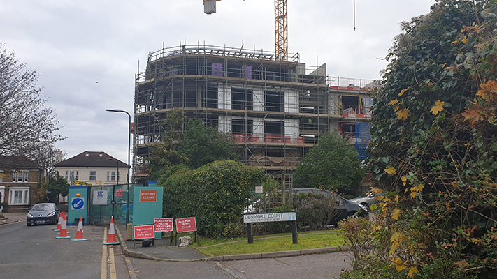 Steel Frame Solutions - Marston Court - Wallington