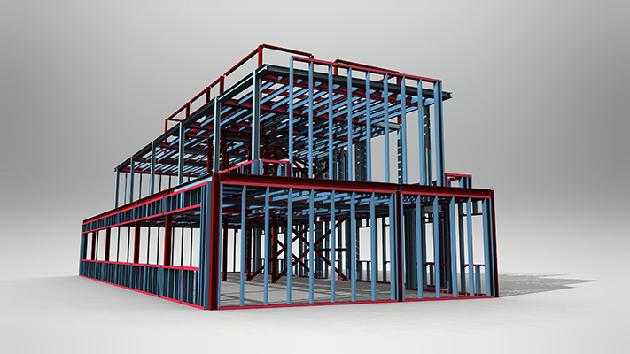 Steel Frame Solutions - Signal Works - London